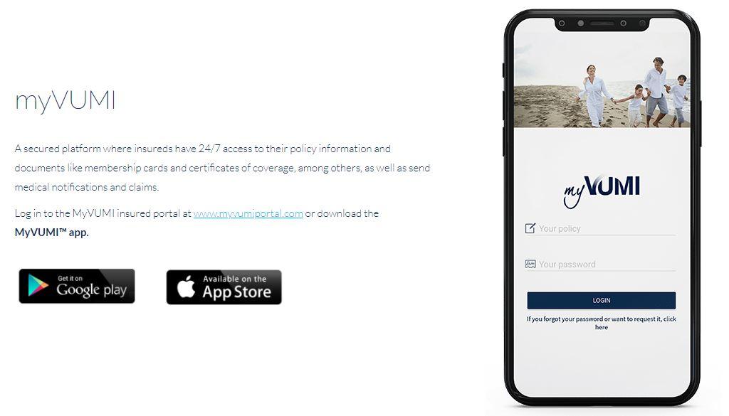 Мобильное приложение Vumi
