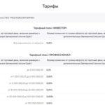 Тарифы брокерских счетов ПСБ - Инвестор и Профессионал